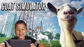 Evan Plays GOAT SIMULATOR! with Face Cam