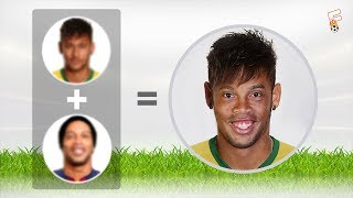 Football Quiz: Can You Identify The Two Players Faces Combined To Make These New Players?