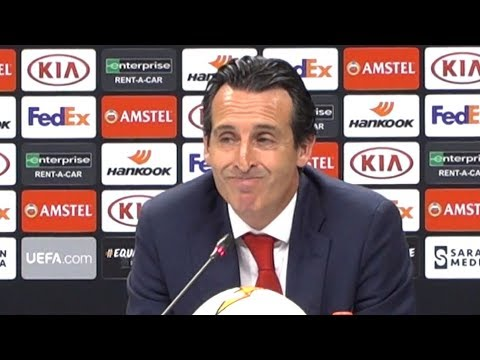 Chelsea 4-1 Arsenal - Unai Emery Full Post Match Press Conference - Europa League Final
