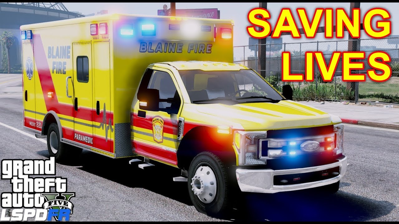 GTA 5 LSPDFR EMS #33 | Play As A Paramedic Mod | Early Morning Life Saving  In Blaine County