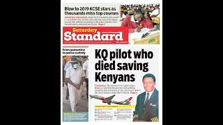 COVID-19: Pilot who died saving Kenyans & others on the frontline | INSIDE POLITICS WITH BEN KITILI