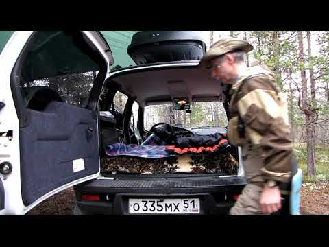 Спальные места в Chevrolet Niva