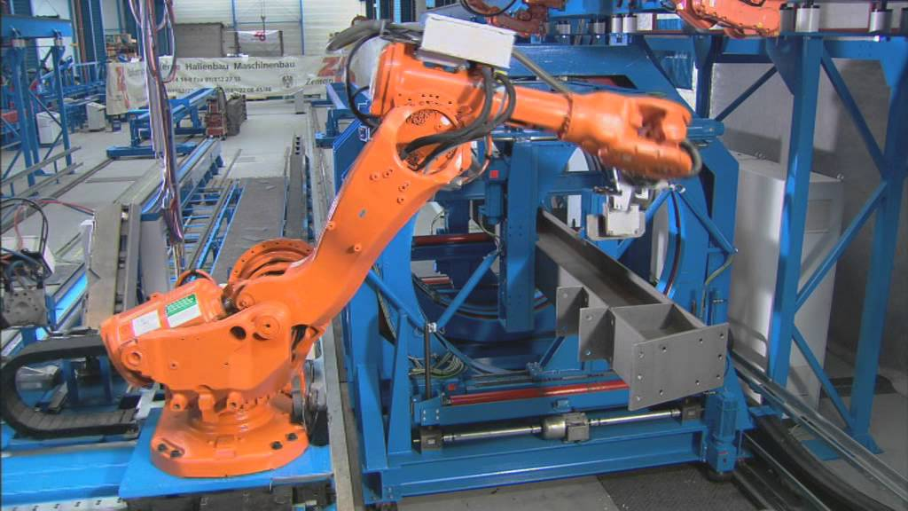 Fantastyczny Steel Beam Assembly (SBA) - nowoczesny robot spawalniczy - YouTube UN79