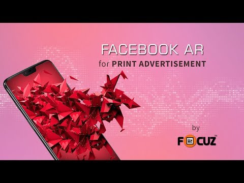 Introducing Facebook AR for Print Adverts - FocuzAR