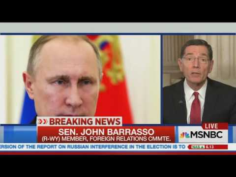 Barrasso on MSNBC with Ali Velshi