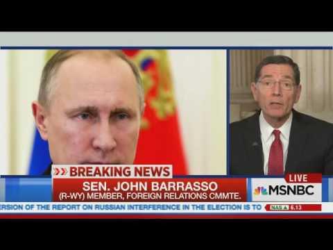 Barrasso on MSNBC with Ali Velshi