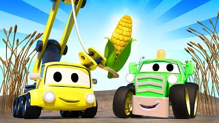 Baby Cars -  The Babies are running the farm - Car City ! Cars and Trucks Cartoon for kids