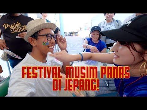 FESTIVAL MUSIM PANAS DI OKAYAMA, JEPANG - TRAVEL VLOG #45