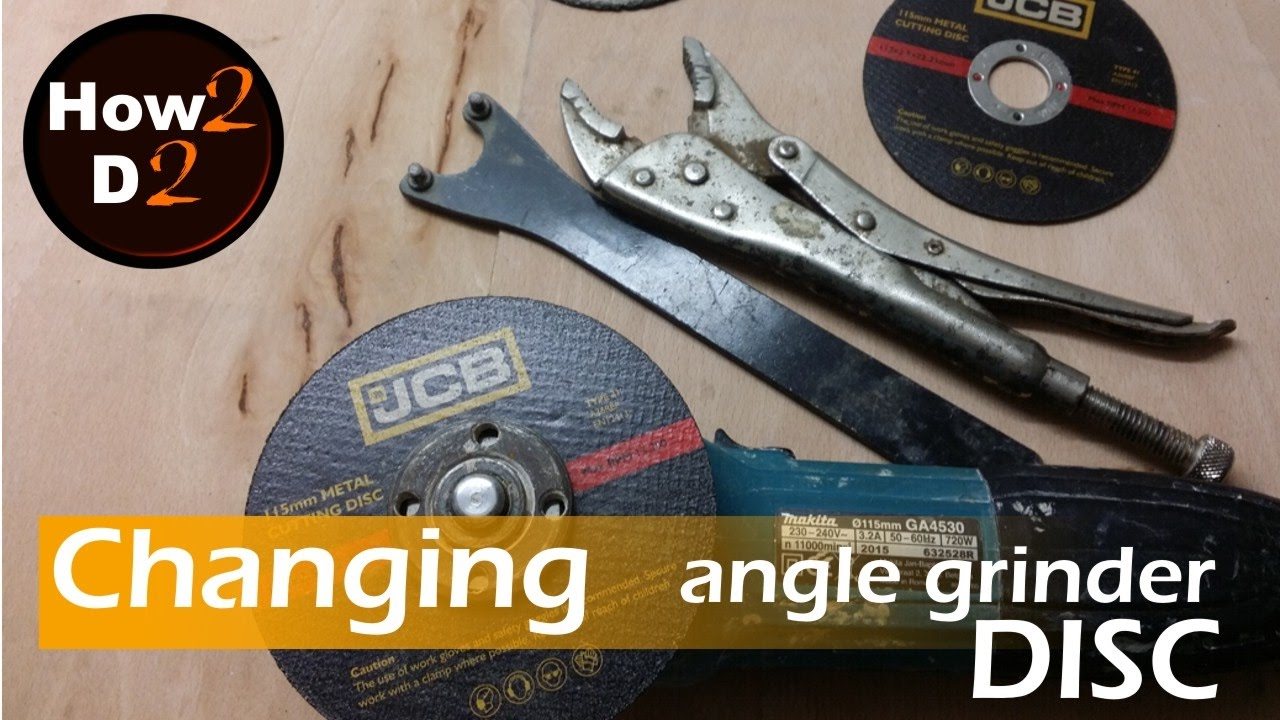 Changing Disc How To Change Replace Blade In Makita Angle Grinder