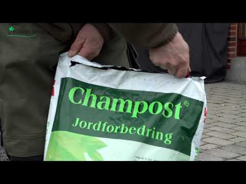 Jordforbedring fra Champost
