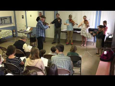 Randy Miller, student Fiddle Fest