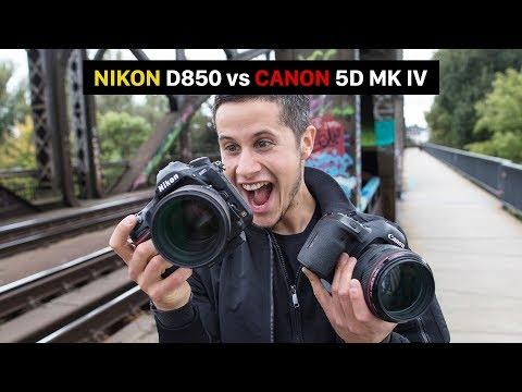 Nikon D850 Vs Canon EOS 5D Mark IV | Best Full Frame Camera | DSLR Comparison