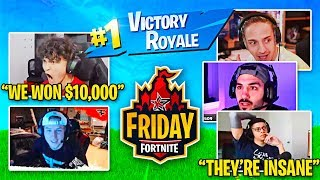 HOW I WON FRIDAY FORTNITE (FaZe Jarvis Vs Ninja & Myth)
