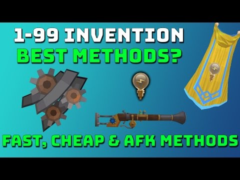 1-99 Invention Guide [Runescape 3] Fast, Cheap & AFK Methods