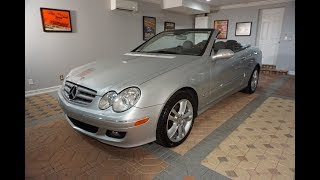 This 2006 Mercedes Benz CLK350 Convertible is the perfect affordable 4-seat convertible