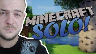 DWIE PIRAMIDY I DOMEK WIEDŹMY ♀️ Minecraft Solo #2