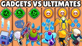 GADGETS vs ULTIMATES | WHAT IS THE STRONGEST SKILL? | BRAWL STARS OLYMPICS