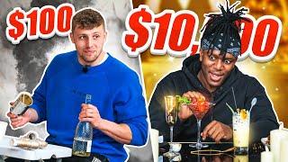 SIDEMEN $10,000 vs $100 MUKBANG