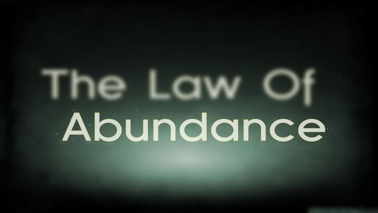 Image result for law of abundance