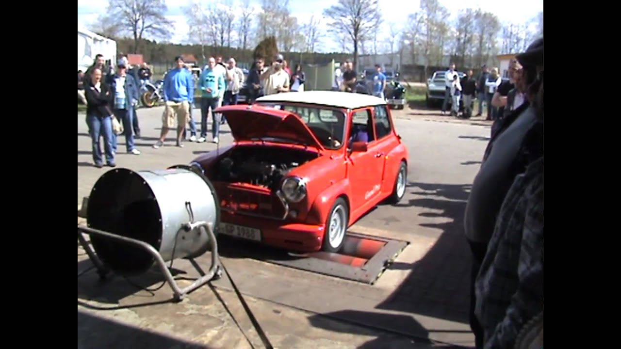 Dynoday Dyno Day Leistungsprüfstand Austin Mini Grand Prix 042012