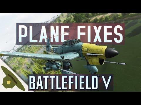 Battlefield 5: PLANE FIXES and tweaks are finally here! - STUKA B-2