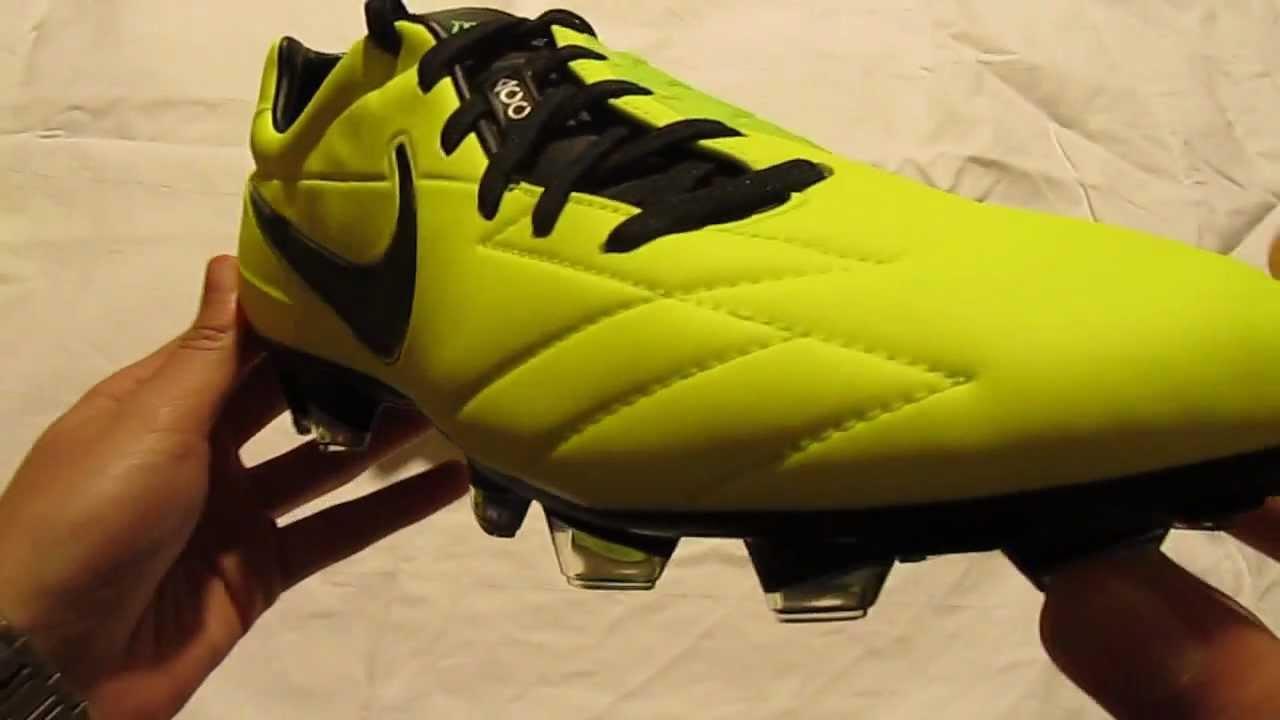 Nike T90 Laser IV FG Neongelb Unboxing - 11teamsports.de