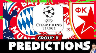 2019/20 Champions League Group B - Predictions