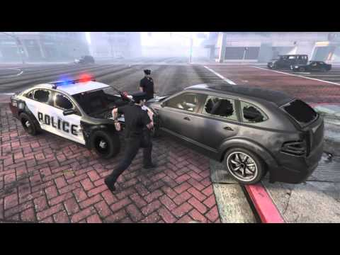 "Gta 5 l  ""Bad Cops"" bad boys parody"
