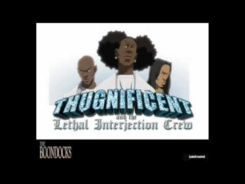 NEW THUGNIFICENT - NIGGA NIGGA NIGGA (Boondocks Season 3)