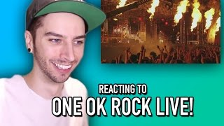 REACTING TO ONE OK ROCK LIVE!