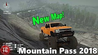 SpinTires MudRunner Mods: NEW MAP! Mountain Pass 2018