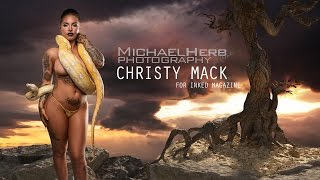 Christy Mack for Inked Magazine - Michael Herb Photography