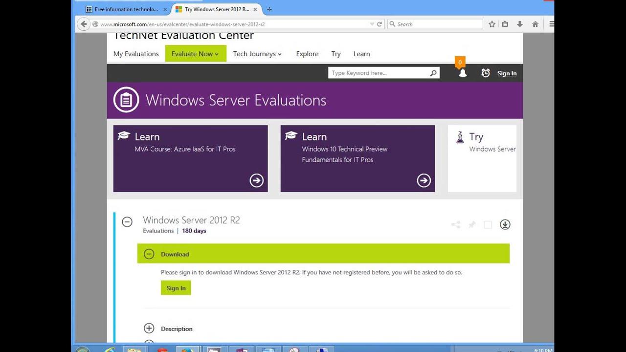 windows storage server 2012 r2 evaluation download