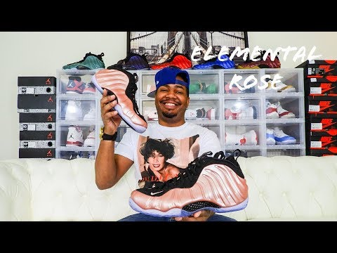 Nike Air Foamposite One Elemental Rose Review!!!