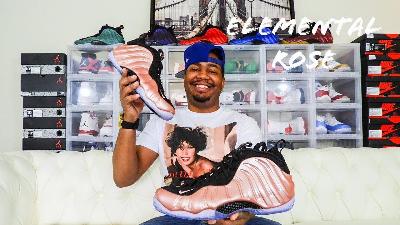 best service e067d faf7e Nike Air Foamposite One Elemental Rose Review!!!