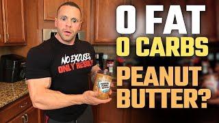 Zero Carb Zero Fat Peanut Butter?   Tiger Fitness
