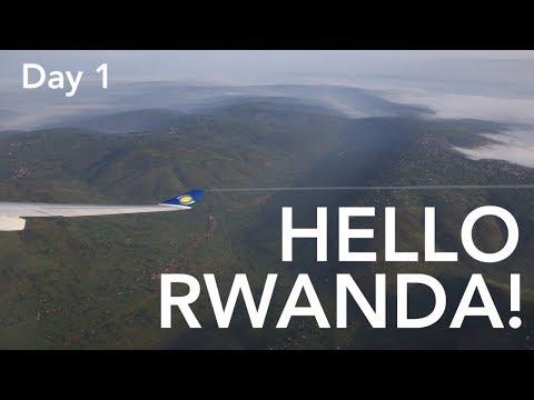 HELLO RWANDA! - Day 1