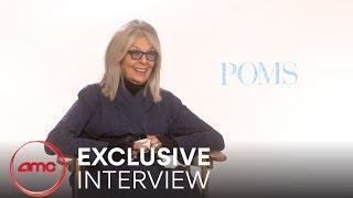 POMS - Exclusive Interview (Diane Keaton, Jacki Weaver, Rhea Perlman)    AMC Theatres (2019)