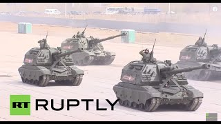 Russia: Full Russian military might on show ahead of V-Day celebrations