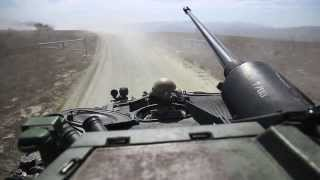 Driving the LAV-25 Armored Car
