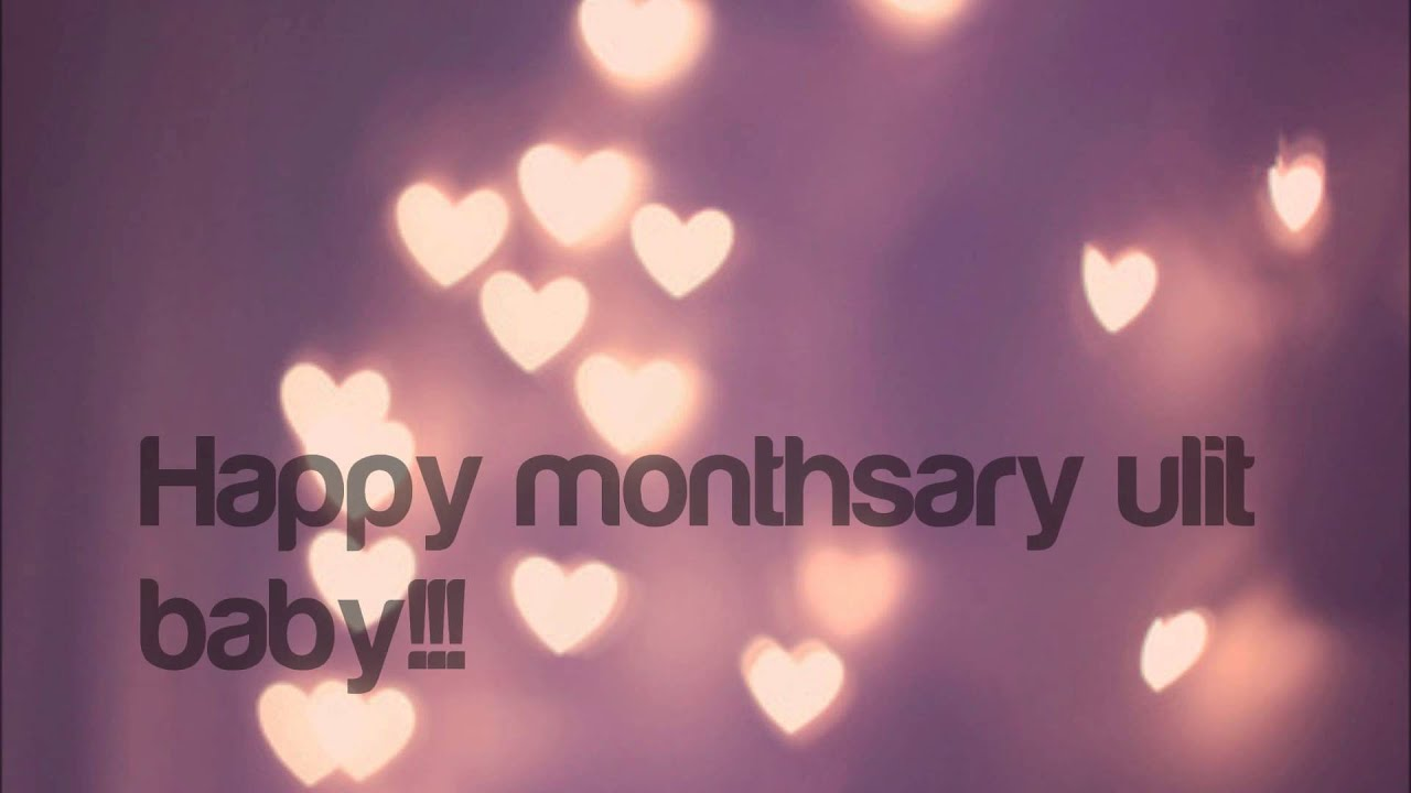 1st monthsary gift youtube 1st monthsary gift negle Image collections