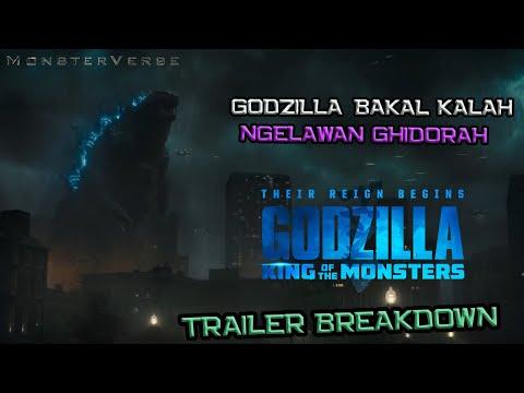 Godzilla Bakal Kalah Lawan King Ghidorah | Godzilla King of The Monsters Trailer #2 Breakdown