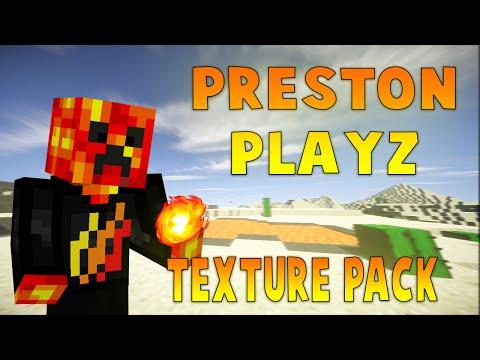 Minecraft PvP Texture Pack: PrestonPlayz Texture Pack! (1.7-1.8)