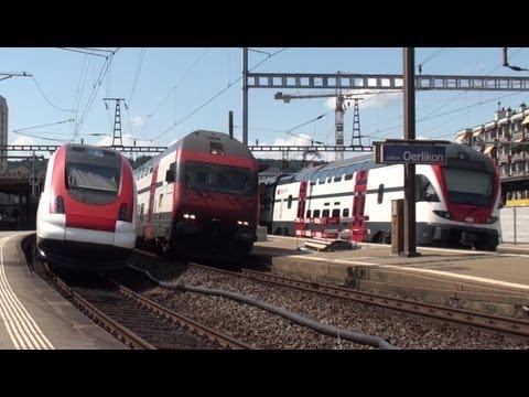 Zug um Zug - Zürich Oerlikon am Limit - DML 2014 - Zug,trainfart,train