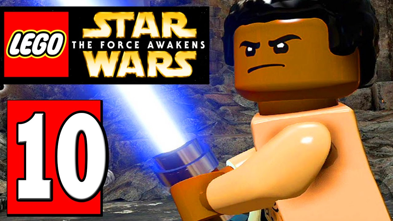 Lego Star Wars The Force Awakens Walthrough Part 10 Castle Corridors