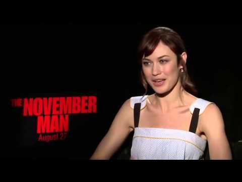 Olga Kurylenko Interview -  The November Man Movie 2014