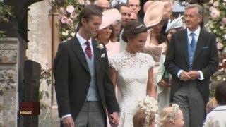 Ilyen volt Pippa Middletonék esküvője