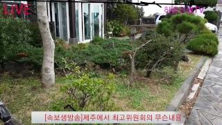 [속보생방송]제주에서 최고위원회의 무슨내용