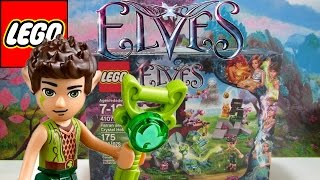 Lego Elves Review And Build - Farran And The Crystal Hollow Set 41076 - Ckc