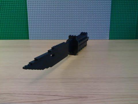 видео: Как сделать штык-нож из lego ( часть 1 )